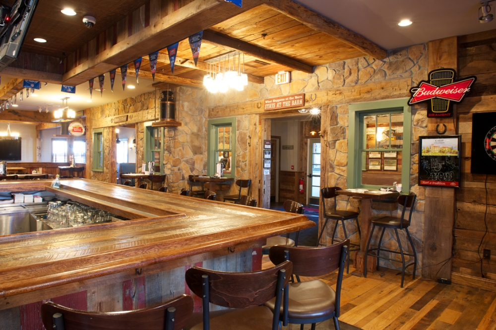 Rockaway barn restaurant goldman design group