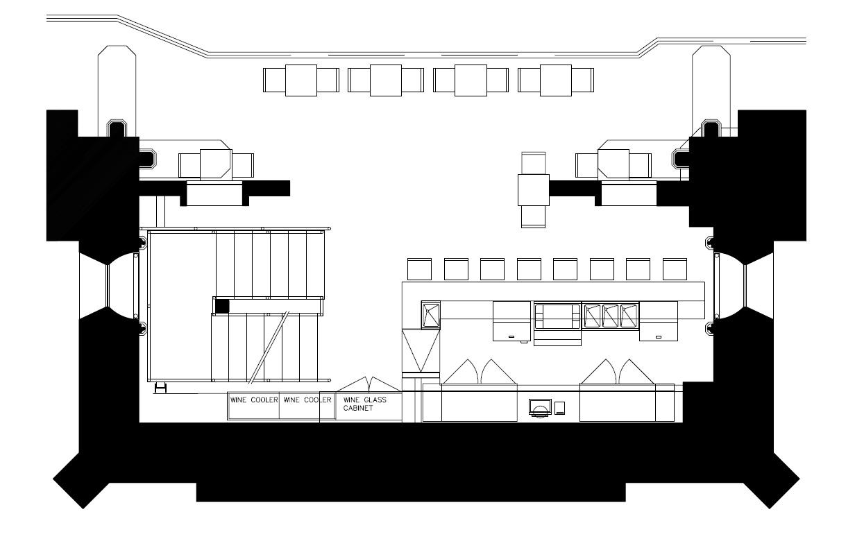 Cana Wine Bar on Safe House Floor Plans